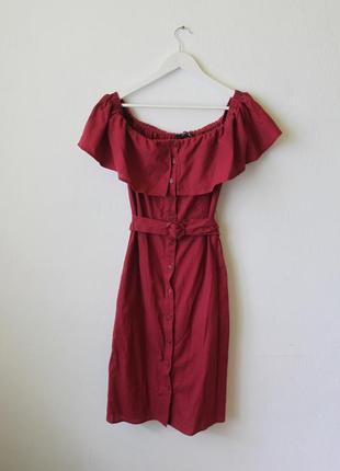 Идеальное платье миди, новое без бирки