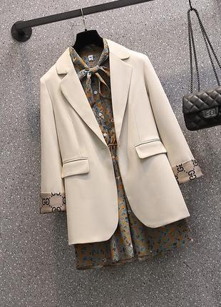 Костюм пиджак и блузка