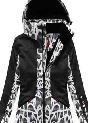 Зимние термокуртки лыжные мембранные женские dl&am