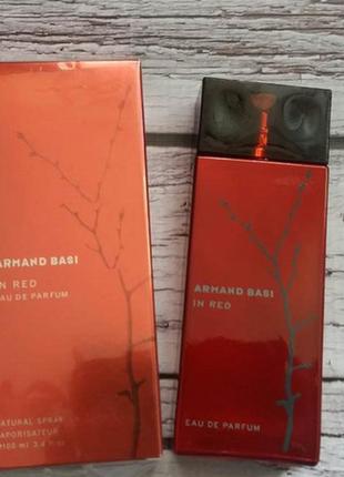 Armand basi in red eau de parfum ж (100 мл) красная веточка