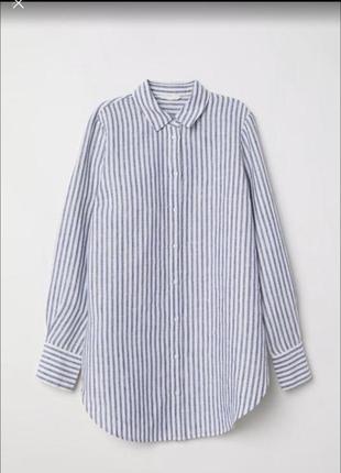 Рубашка 100% льон