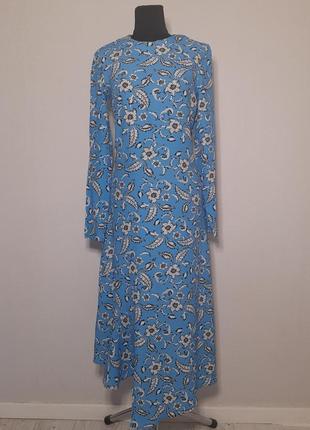Платье h&m, длинное платье, женственное, подчеркнёт фигуру