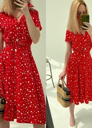 Платье в горошек фото в живую