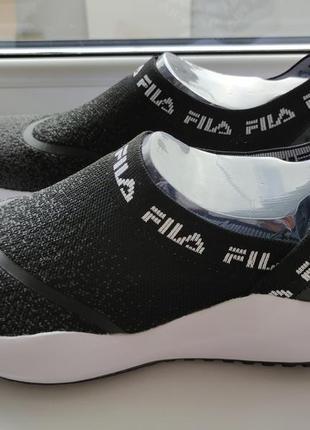 Спортивные туфли слипоны мокасины fila
