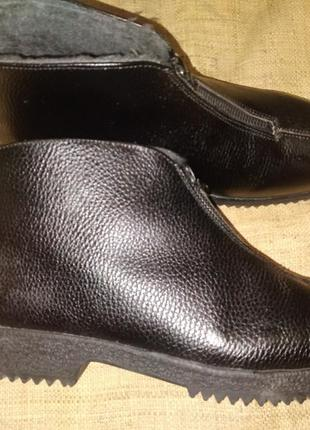 44р-29 см кожа зима ботинки st.moritz swiss made