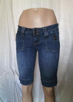 Суперские джинсовые шорты женские стрейч р 26