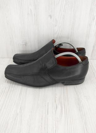 """Стильные итальянские кожаные мужские туфли """"next"""". размер uk8/ eur42."""