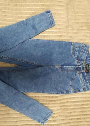 Голубые джинсы skinny jeans