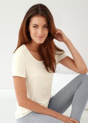 Мягенькая качественная нательная женская футболка  от tcm tchibo (чибо), германия,  l-xl