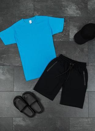 Мужской комплект футболка +шорты