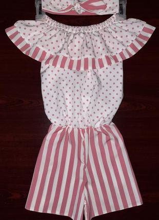 Комбинезон ромпер платье +солошка