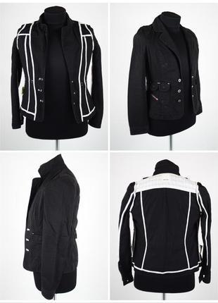 Редкая женская куртка жакет diesel jacket джинсовый кэжуальный пиджак