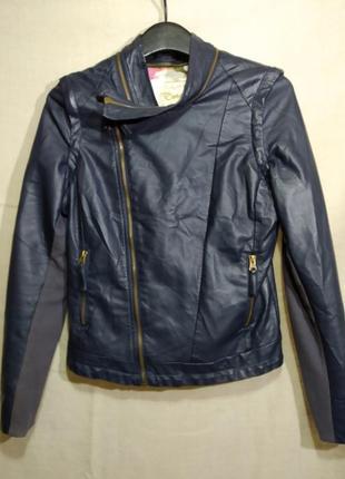 Куртка-косуха из эко-кожи, два в одном, desigual