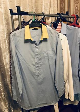 Длинная хлопковая рубашка 👕