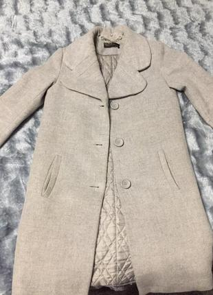 Очень стильное и теплое пальто
