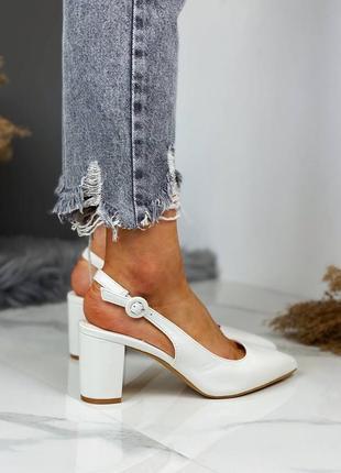 Распродажа туфли босоножки белые 36,37,38,39