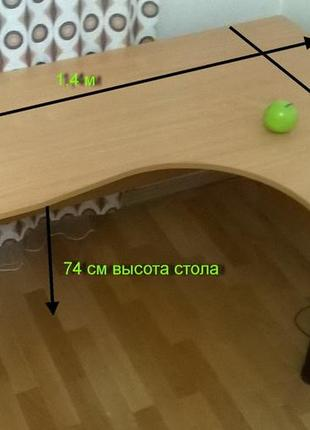 Стіл комп'ютерний большой угловой стол письменный2 фото