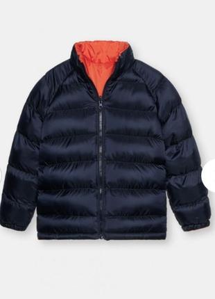 Двухсторонняя демисизонная курточка для мальчика