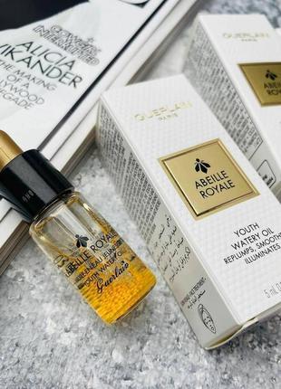 Омолаживающее масло-сыворотка guerlain abeille royale youth watery oil