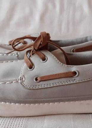 Next шкіряні туфлі мокасини туфли кожа. 41 р. 26,7 см