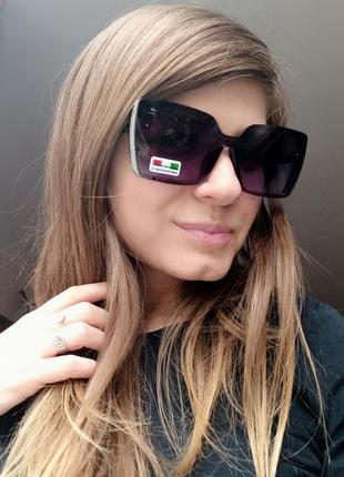 Новые красивые солнцезащитные очки с блеском по бокам ✨