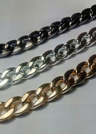 Крупные  цепи  ожерелье колье чокер