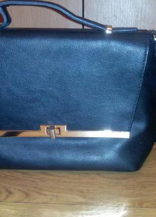 Модная сумка кроссбоди портфелек почтальенка сумка клатч с длинной ручкой