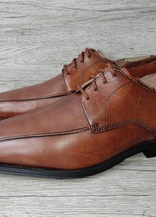 Clarks 41p туфли мужские кожаные индия