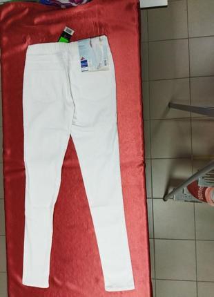 Джегинсы лосины женские белые размер 36, 40 евро (наш 42, 46 )2 фото