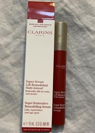 Супер восстанавливающая антивозрастная сыворотка для лица clarins оригинал