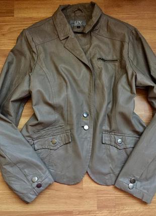 Пиджак ,куртка кожаная,косуха 461 фото