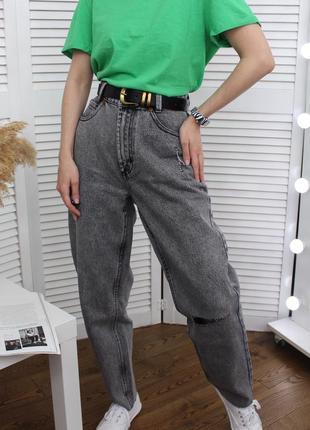 Ідеальні базові мом-джинси, нові!