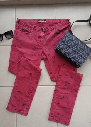 Шикарні джинси з принтом