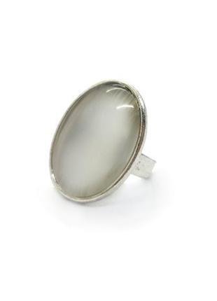 🌝💍 кольцо безразмерное овал натуральный камень лунный камень адуляр