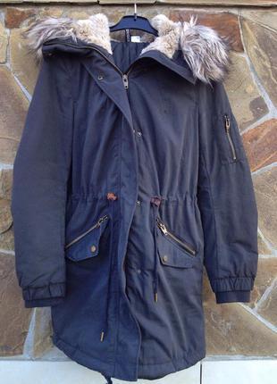 Куртка-парка h&m 36/s