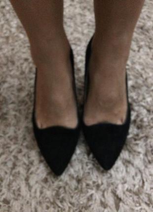 Замшевие туфли aldo