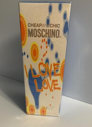 Moschino i love love 100 ml оригинал батч-код