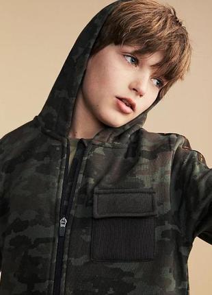 Толстовка з капюшоном на блискавці хлопчику george 12-13 років2 фото