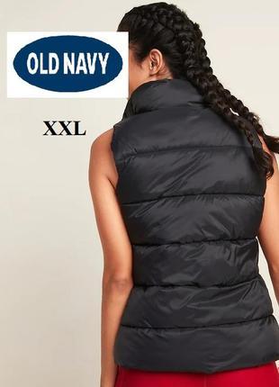 Жилет old navy (олднeви) черный новый 2xl