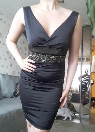 Красивое вечернее платье офисное s-m
