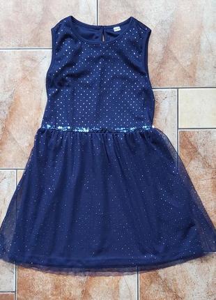 Нарядна сукня з блискітками
