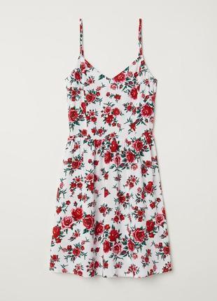 Сарафан платье с цветами