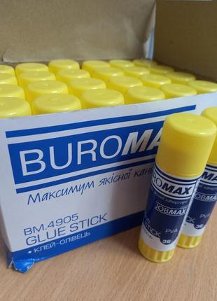 Клей олівець buromax 36 г
