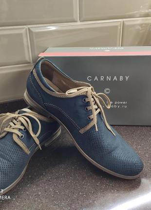 Мужские летние туфли carnaby