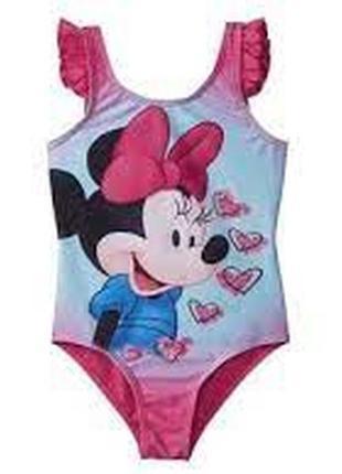 Детский сдельный купальник minnie mouse