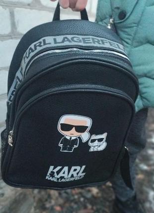 Очень крутой унисекс рюкзак от карла