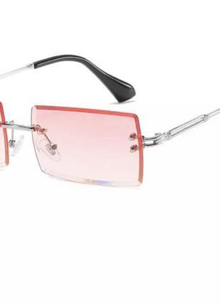 Модные стильные очки без оправы shein