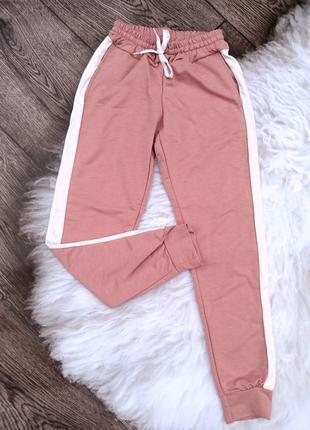 Женские штаны в цвете пудра .очень красивый и нежный цвет