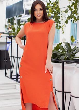 Платье в расцветках р 48-54