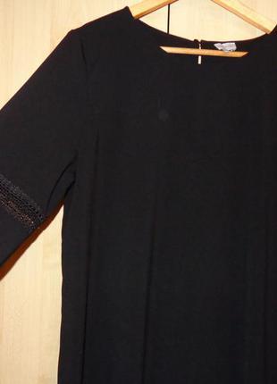 Платье классика черное reserved (р.42-44 европ.)